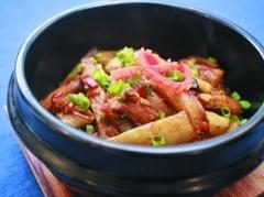 地道广式美食 咸鱼茄子煲
