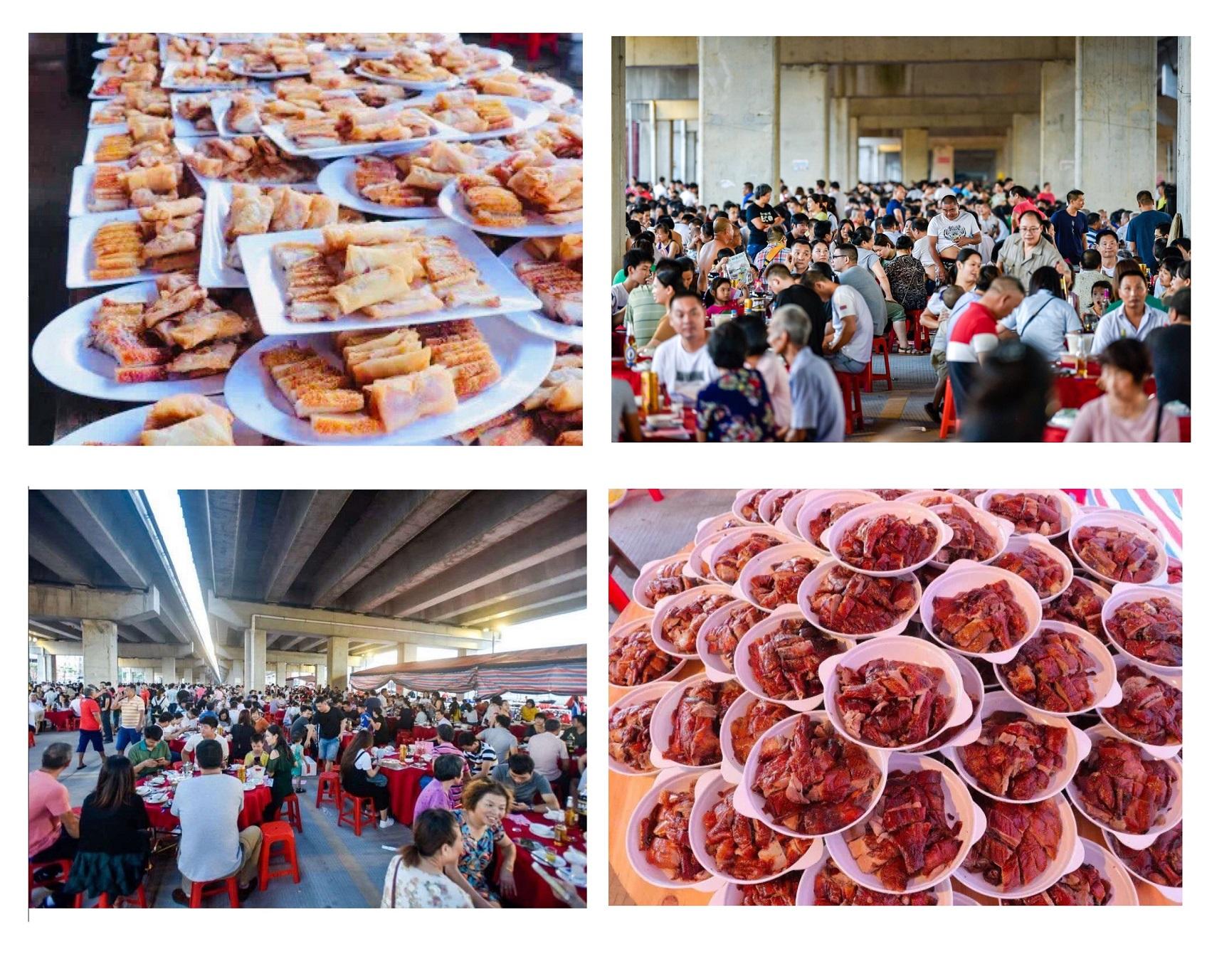 石壁街屏山一村近两万人共享传统龙舟宴,场面浩大.jpg